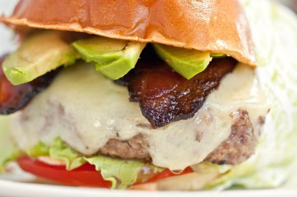 Nancy's Backyard Burger @ Short Order