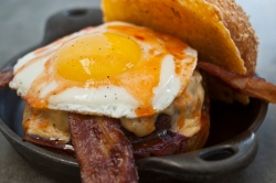 Chef's Favorite Burger @ Plan Check Kitchen + Bar