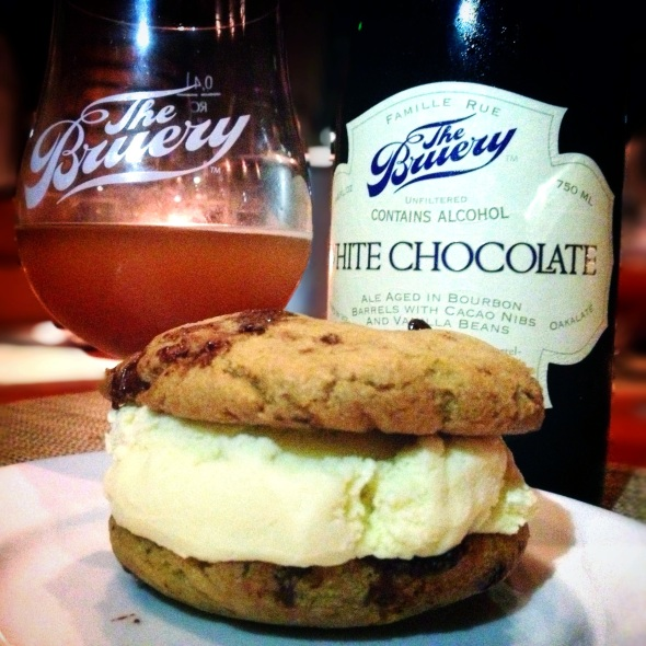 The Bruery/Craft LA Pairing Dinner - Course 10