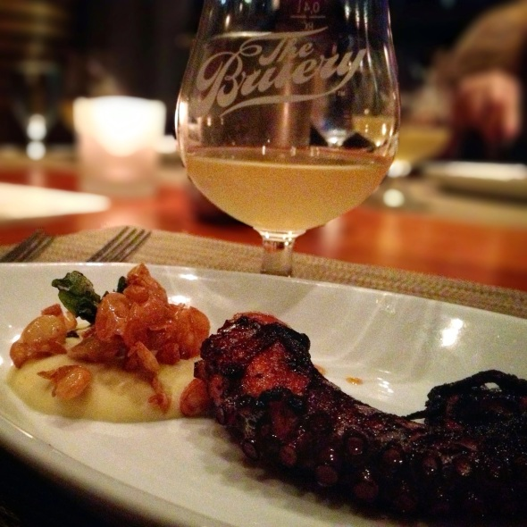 The Bruery/Craft LA Pairing Dinner - Course 1