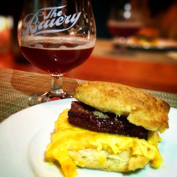 The Bruery/Craft LA Pairing Dinner - Course 4