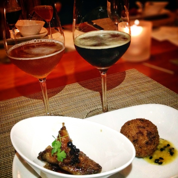 The Bruery/Craft LA Pairing Dinner - Courses 7 and 8