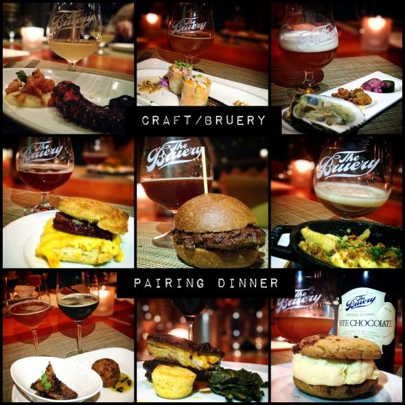 The Bruery/Craft LA Pairing Dinner