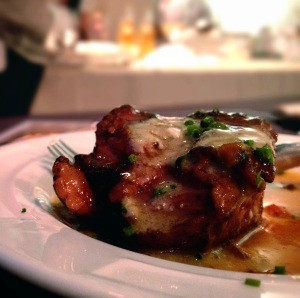 Chef Mirko's Braised Veal in Gorgonzola Cream Sauce from Los Angeles Food & Wine Festival