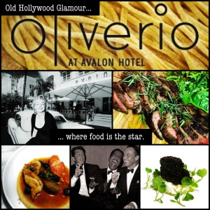 Oliverio Restaurant, Old Hollywood Glamour Where Food Is The Star